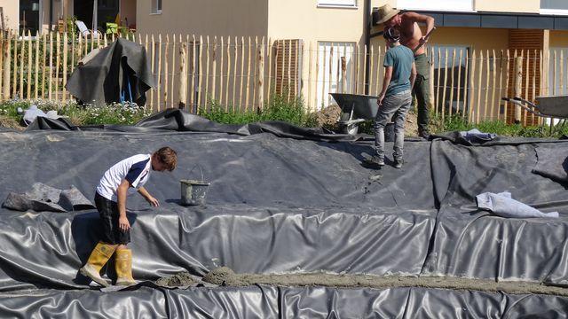 wir bauen einen teich 4 die pflegestufe ecodeco lebensraumgestaltung. Black Bedroom Furniture Sets. Home Design Ideas